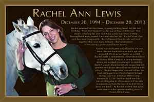 memorial plaque, custom photo memorial plaque